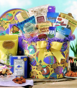 Gift Bucket of Easter Snacks image