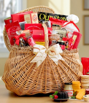 North Carolina Food Gift Hamper data-pin-no-hover=
