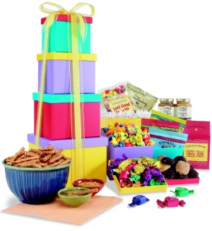 Brilliant Boxes Gift Tower data-pin-no-hover=