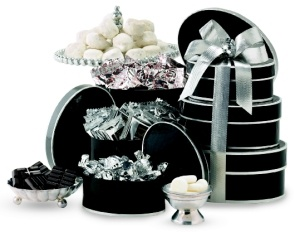 Black Tie Sweets Tower data-pin-no-hover=