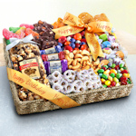Birthday Party Snacks Gift Basket