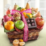 Mother's Day Orchard Delight Fruit and Gourmet Basket