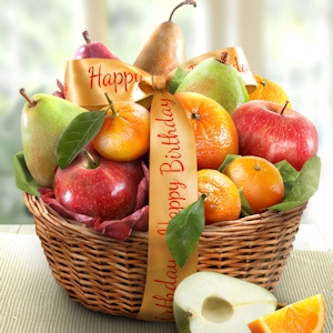 Birthday Fruit Favorites Gift Basket imagerjs
