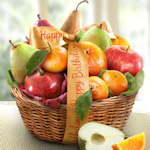 Birthday Fruit Favorites Gift Basket