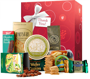 Gourmet Treats Thank You Gift Box imagerjs