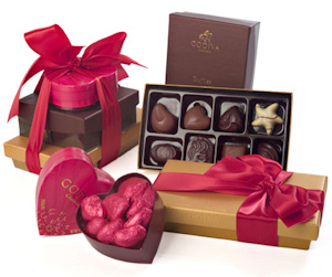 Godiva Hearts Chocolate Valentine Tower imagerjs