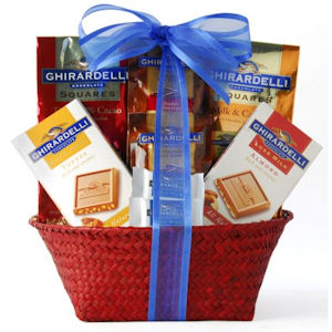 Great Ghirardelli Gift Basket imagerjs