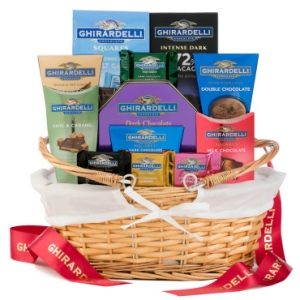 Grand Ghirardelli Chocolate Basket image