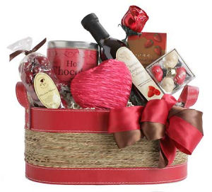 Love and Chocolate Basket image