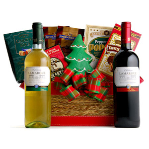Holiday Season Wine Basket imagerjs