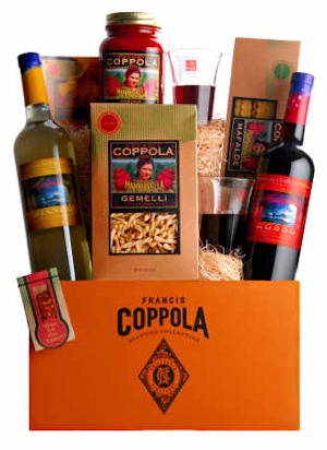 Francis Ford Coppola Pasta and Wine Gift Set data-pin-no-hover=