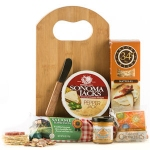 Cutting Board Meat & Cheese Gift