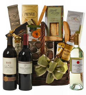 Wine Country Gourmet Gift Basket image