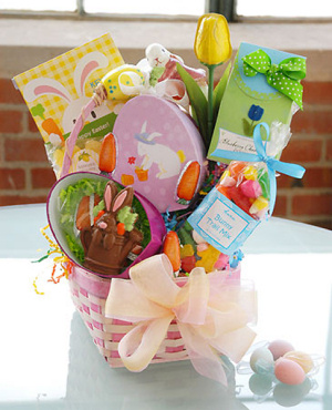 Easter Treats Pastel Basket imagerjs