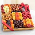 Sweet Extravagance Deluxe Nut and Fruit Tray