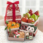 Holiday Celebration Fruit Tower Gift