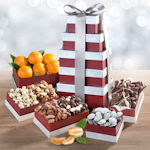 Layers of Wonder Holiday Fruit and Snack Tower