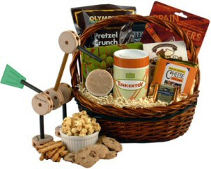All Play No Work Gift Basket image