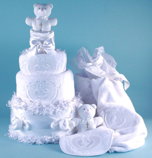Angel Bear Diaper Cake imagerjs