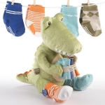 'Crocs in Socks' Plush Toy and Socks Set
