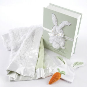 Bunnies In the Garden Blanket Gift Set imagerjs