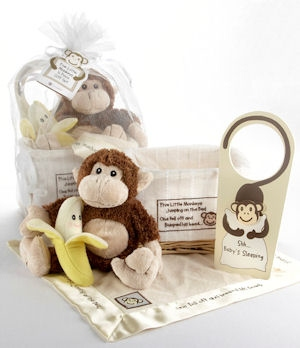 Five Little Monkeys Gift Basket imagerjs
