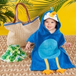 Tropical Boy Four Piece Gift Set with Raffia Tote