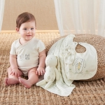 Natural Baby Bamboo 5-Piece Welcome Home Gift Set