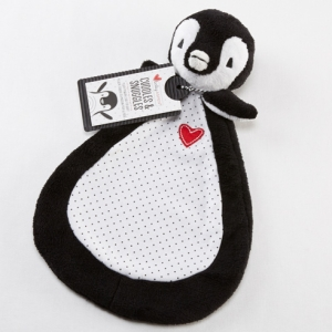 Cuddles and Snuggles Plush Penguin Baby Lovie imagerjs