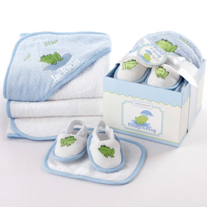 Finley the Frog Bathtime Gift Set imagerjs