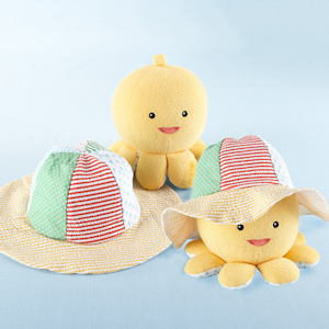 Little Wader and Sun Shader Sunhat & Plush Toy Gift Set imagerjs