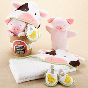 Farmhouse Friends 3-Piece Bathtime Bucket imagerjs