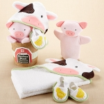 Farmhouse Friends 3-Piece Bathtime Bucket