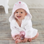 Little Princess Baby Hooded Spa Robe