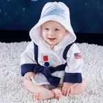Cosmo Tot Astronaut Hooded Spa Robe