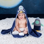 Cosmo Tot Spaceship 4 Piece Bath Time Gift Set