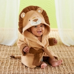 Lion Hooded Spa Robe