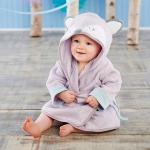 Forest Friends Fancy Fox Hooded Spa Robe