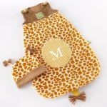 Born To Be Wild Giraffe Snuggle Sack and Hat