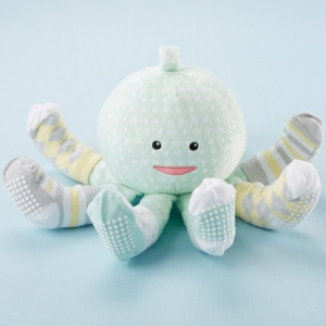 Sock T. Pus Octopus Plush and Socks for Baby imagerjs