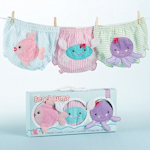 Beach Bums Bloomer Diaper Cover Set