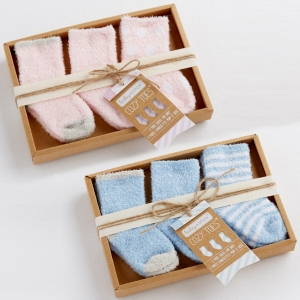Cozy Toes Chenille Baby Sock Set imagerjs