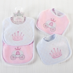 Little Princess Baby Bib Gift Set (2 Bibs)