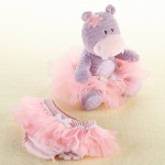Lady Lulu Hippo Plush & Baby Bloomer Gift Set