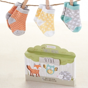 My Forest Friends Baby Sock Set imagerjs