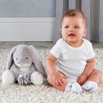 Bailey the Bunny Plush Plus with Socks for Baby