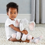 Lilly the Elephant Plush Plus with Socks for Baby
