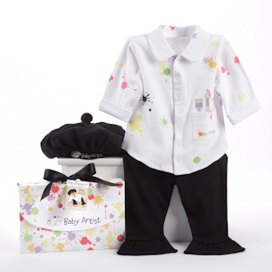 Big Dreamzzz Baby Artist 3 Piece Layette Set (0 - 6 Months) imagerjs