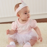 Baby Princess Three Piece Layette Set