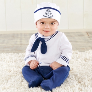 Big Dreamzzz Baby Sailor Layette Gift Set imagerjs